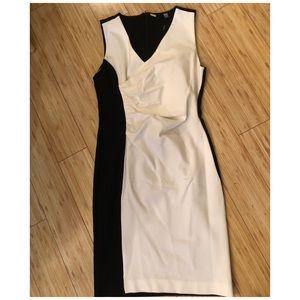 NWT Tahari Two toned dress